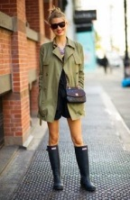 Layers are everything no matter what season and we adore olive green outerwear.