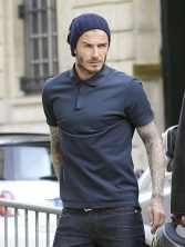 David Beckham can do no wrong and there's something incredibly sexy about a man in a skully.