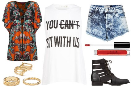 What to Wear to Made in America 2014 Fest - Outfit Idea - Festiv