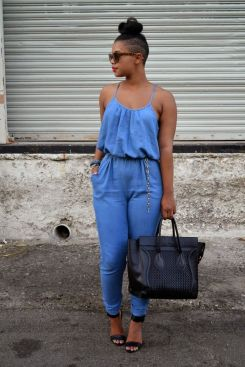 Cute Denim Romper for a day out on the town.