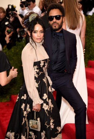 I just love these two together. Lisa Bonet is a timeless beauty just like her daughter and Lenny's funkadelic style never gets old.