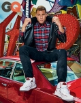 The NBA season may not have ended on a high note for L.A. Clipper Blake Griffin but it doesn't stop him from looking good.